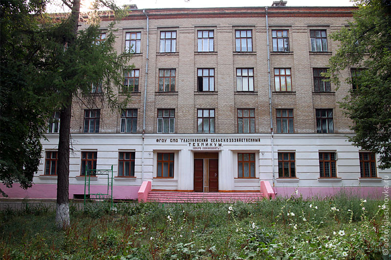 Глазуновский сельскохозяйственный техникум фото