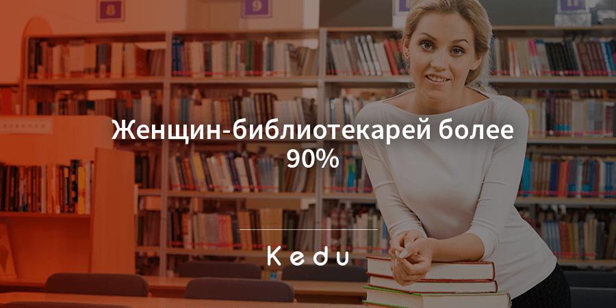 Женская профессия — библиотекарь