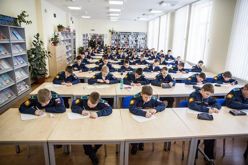 Тюменское президентское кадетское училище фото 2