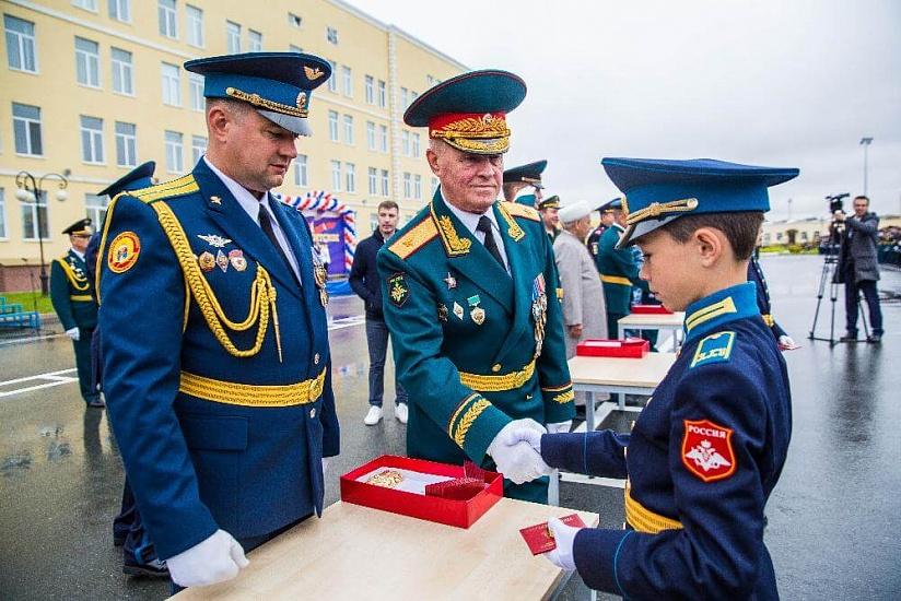 Тюменское президентское кадетское училище фото 4