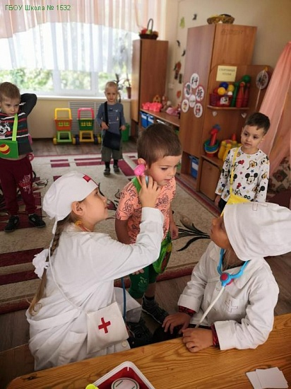 Дошкольное отделение 05/4 школы №1532 фото 1