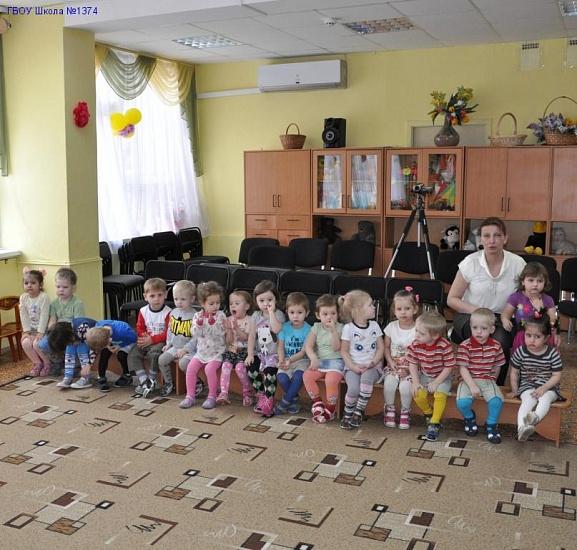 """Дошкольный корпус """"Радуга детства"""" школы №1374 фото"""